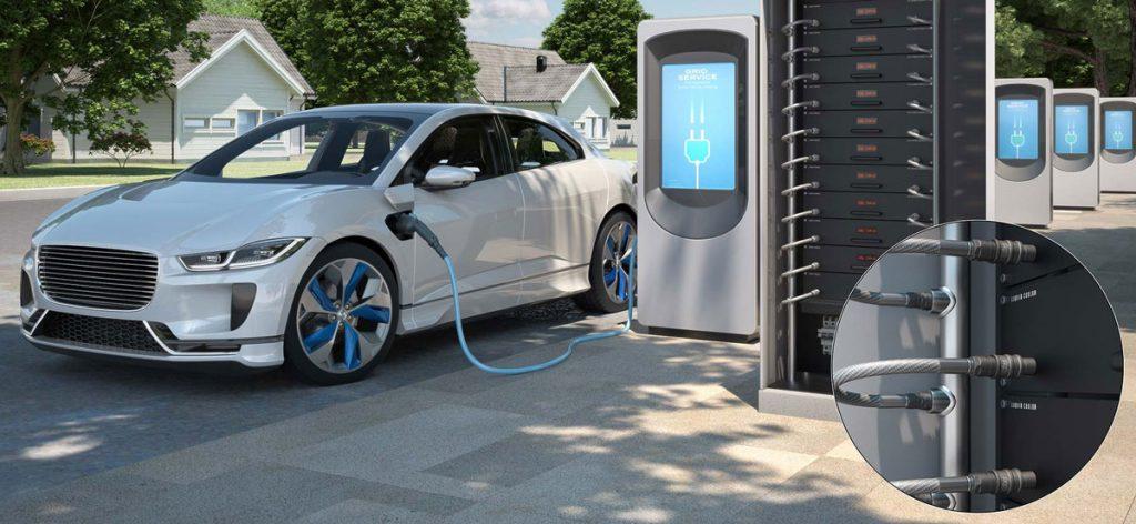 Elektromobilių baterijos įkrovimas